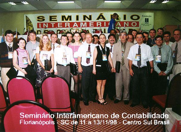 Seminário Interamericano de Contabilidade - Florianópolis - 1998
