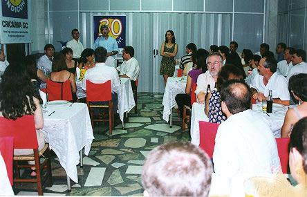 Jantar 30 anos do Sindicont - Churrascaria Kilombo - 1998
