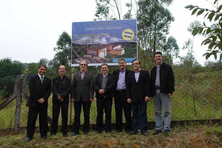 Lançamento das obras da nova sede administrativa do Sindicont - 2011