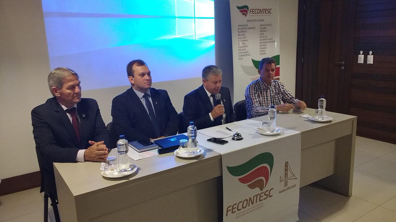 Assembleia Fecontesc 2018 - Nova Veneza